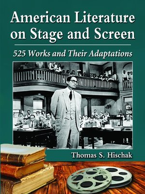 cover image of American Literature on Stage and Screen