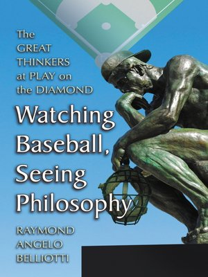 cover image of Watching Baseball, Seeing Philosophy