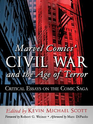 cover image of Marvel Comics' Civil War and the Age of Terror
