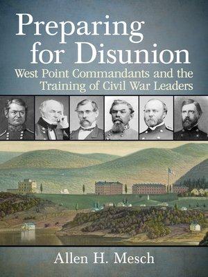 cover image of Preparing for Disunion
