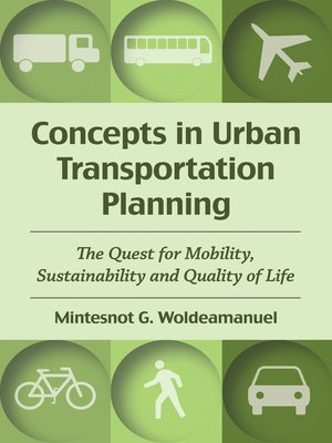 cover image of Concepts in Urban Transportation Planning