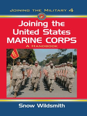 cover image of Joining the United States Marine Corps
