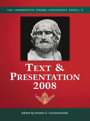 cover image of Text & Presentation