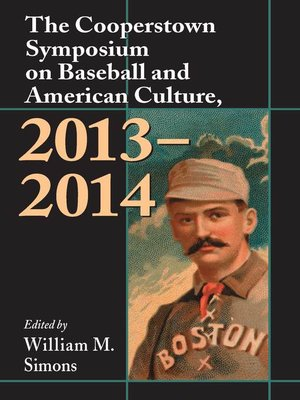 cover image of The Cooperstown Symposium on Baseball and American Culture