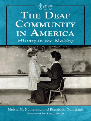 cover image of The Deaf Community in America