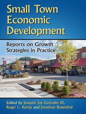cover image of Small Town Economic Development