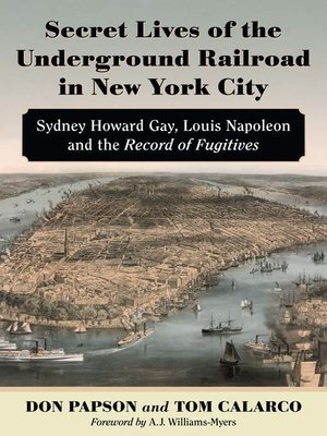 cover image of Secret Lives of the Underground Railroad in New York City