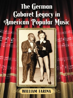 cover image of The German Cabaret Legacy in American Popular Music