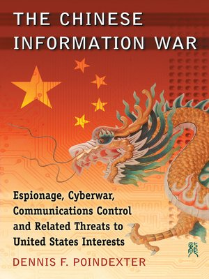 cover image of The Chinese Information War