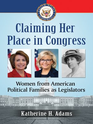 cover image of Claiming Her Place in Congress