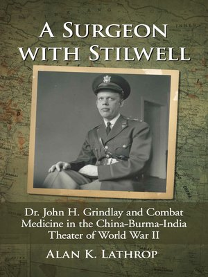 cover image of A Surgeon with Stilwell