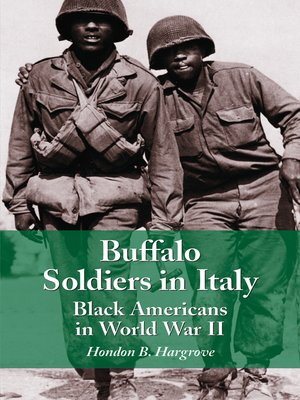 cover image of Buffalo Soldiers in Italy