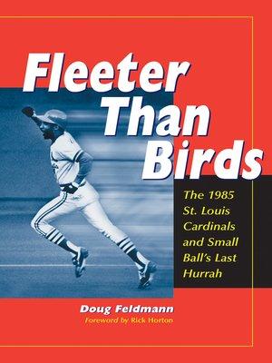 cover image of Fleeter Than Birds