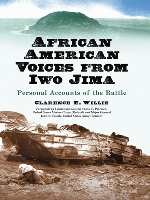 cover image of African American Voices from Iwo Jima