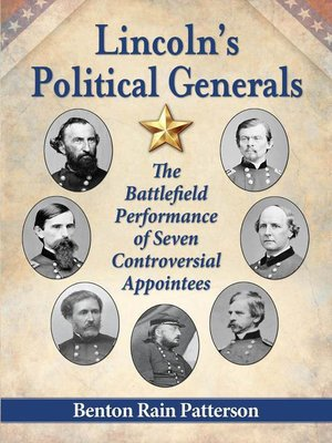 cover image of Lincoln's Political Generals
