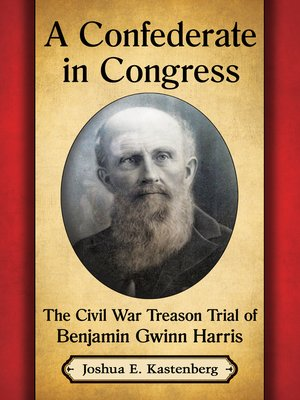 cover image of A Confederate in Congress