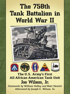 cover image of The 758th Tank Battalion in World War II