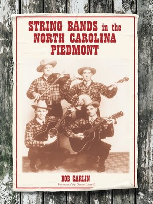 cover image of String Bands in the North Carolina Piedmont