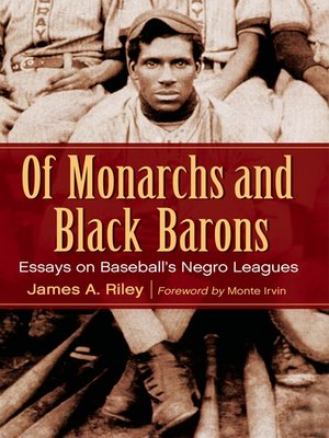 cover image of Of Monarchs and Black Barons