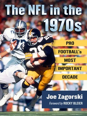 cover image of The NFL in the 1970s