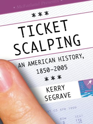 cover image of Ticket Scalping