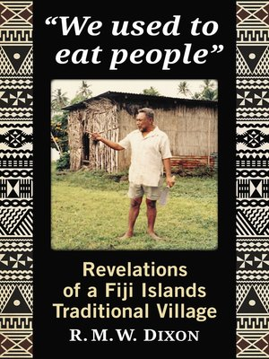 """cover image of """"We used to eat people"""""""