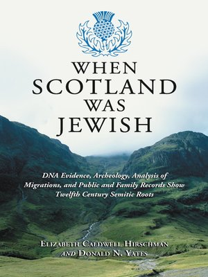 cover image of When Scotland Was Jewish