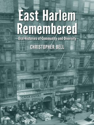 cover image of East Harlem Remembered