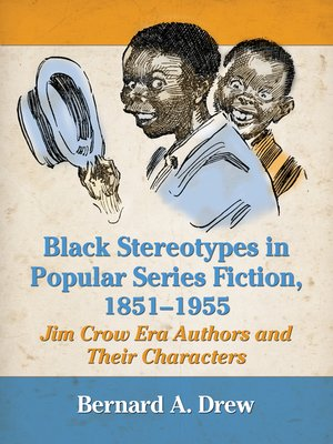 cover image of Black Stereotypes in Popular Series Fiction, 1851-1955