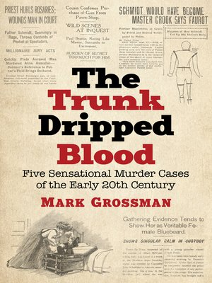 cover image of The Trunk Dripped Blood
