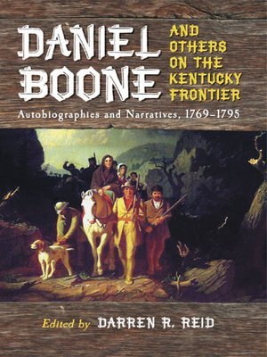 cover image of Daniel Boone and Others on the Kentucky Frontier