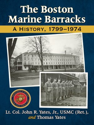 cover image of The Boston Marine Barracks