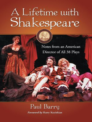 cover image of A Lifetime with Shakespeare