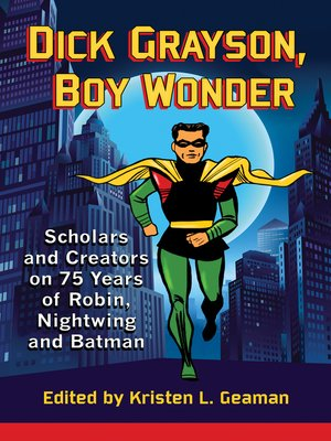 cover image of Dick Grayson, Boy Wonder
