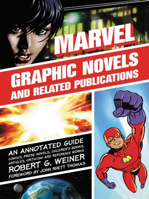 cover image of Marvel Graphic Novels and Related Publications