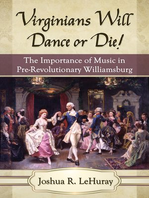 cover image of Virginians Will Dance or Die!