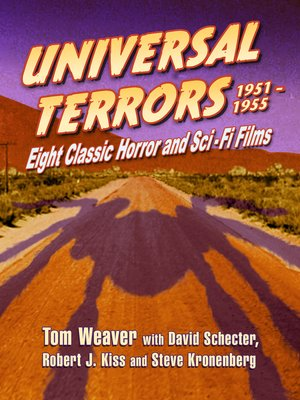 cover image of Universal Terrors, 1951-1955