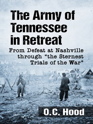 cover image of The Army of Tennessee in Retreat
