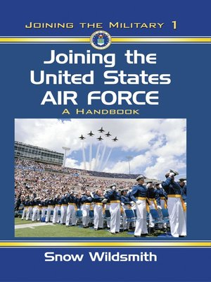 cover image of Joining the United States Air Force