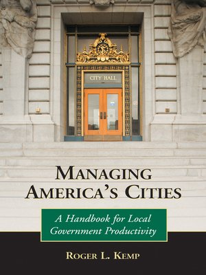 cover image of Managing America's Cities