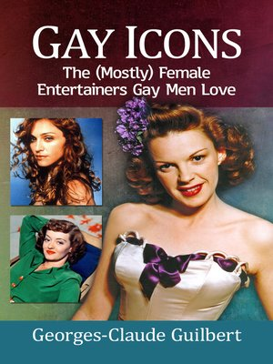 cover image of Gay Icons