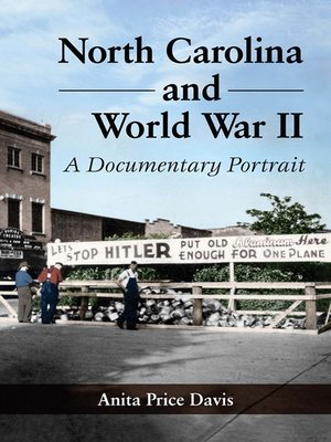cover image of North Carolina and World War II