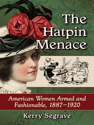 cover image of The Hatpin Menace