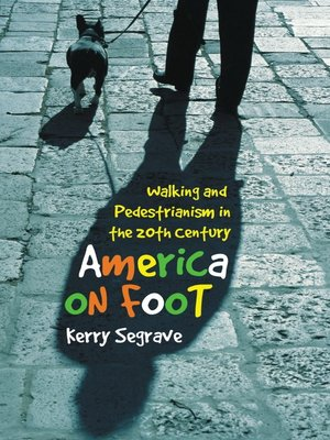 cover image of America on Foot