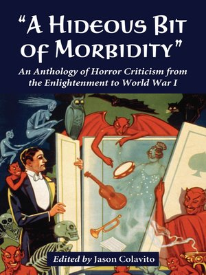 "cover image of ""A Hideous Bit of Morbidity"""