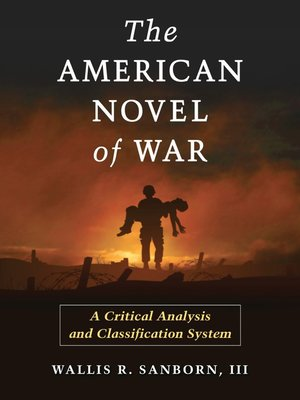 cover image of The American Novel of War