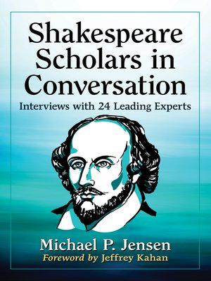 cover image of Shakespeare Scholars in Conversation
