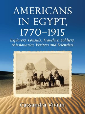 cover image of Americans in Egypt, 1770-1915