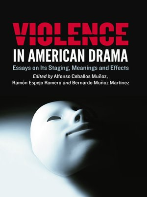 cover image of Violence in American Drama