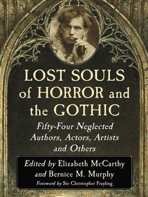 cover image of Lost Souls of Horror and the Gothic